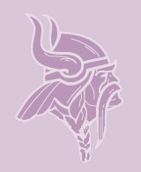 The Winona High School Mascot - the Winona Viking